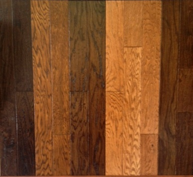 "Engineered Oak HandScraped  5"" Width"