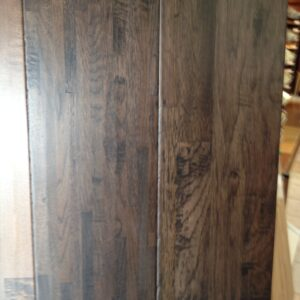 8″ HAND SCRAPED SOLID OAK FINGER-JOINT