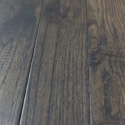 Handscraped solid Oak Charcoal