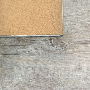 WPC Luxury Vinyl with Cork attached 7.5 MM Thickness