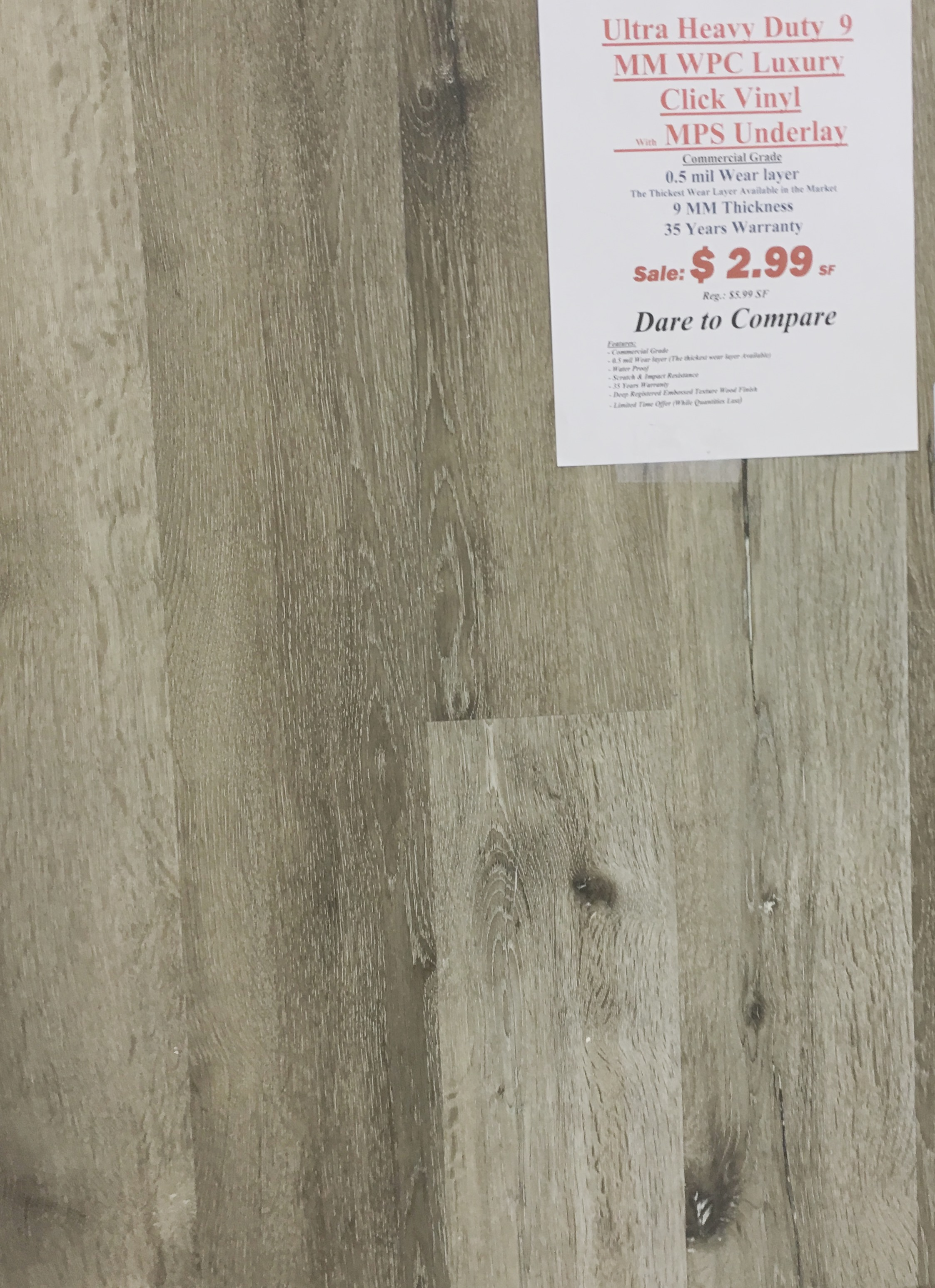 Wpc luxury vinyl mm w mps underlay canada flooring rugs